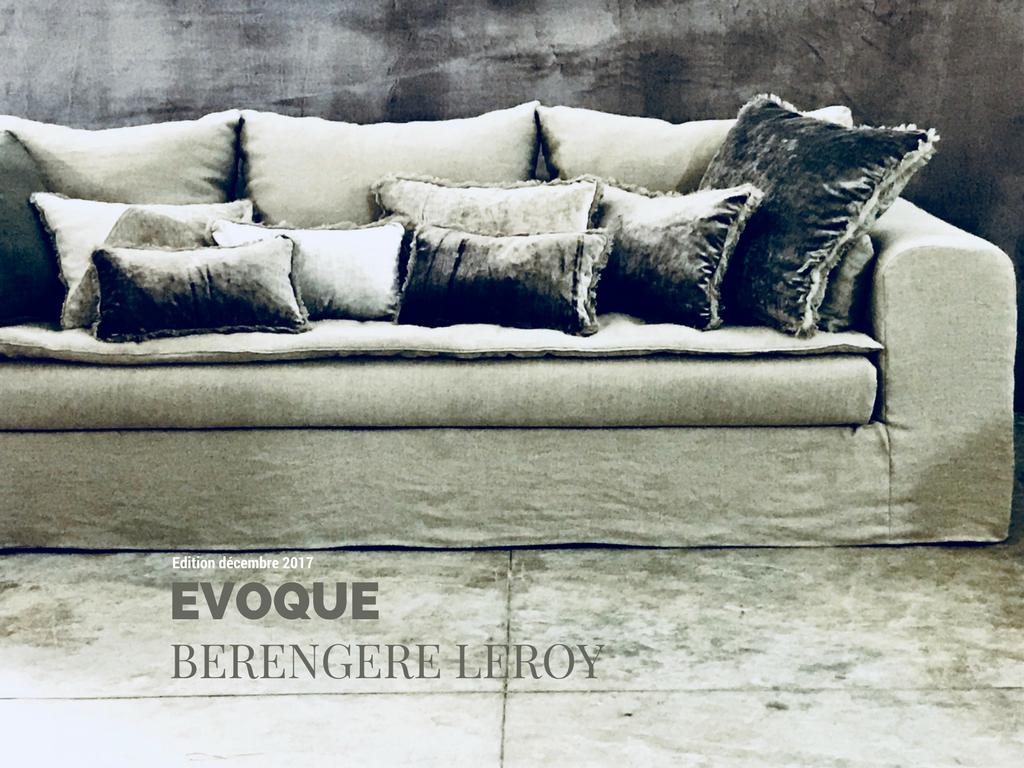 Canapé en lin lavé beige ficelle Avignon