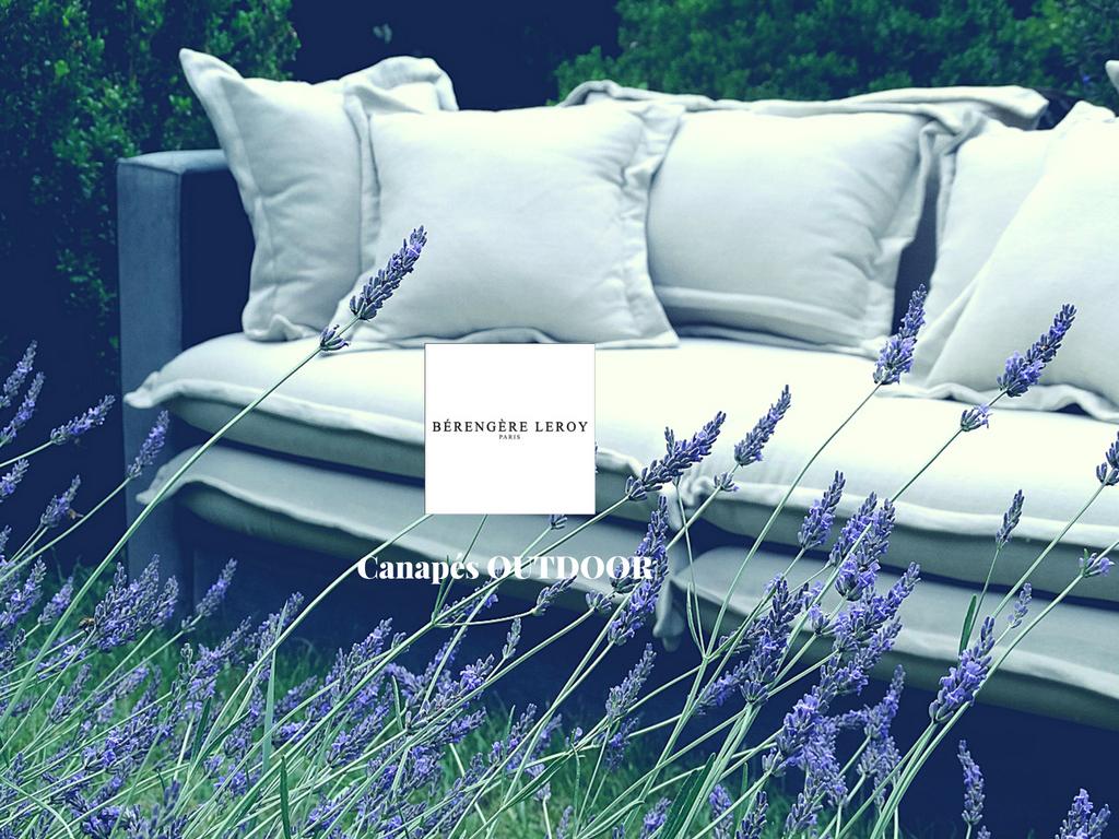 Canapé extérieur outdoor haut de gamme