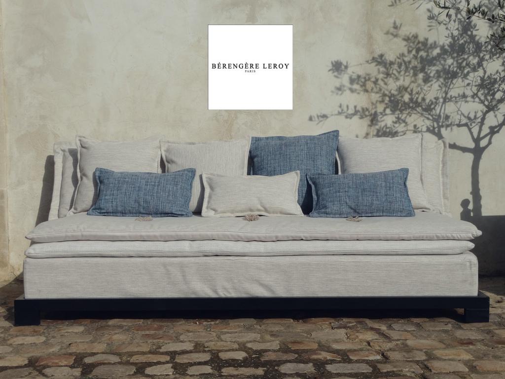 Outdoor iron sofa