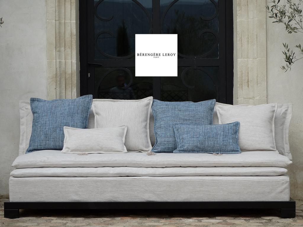 Canapé outdoor blanc Marseillle