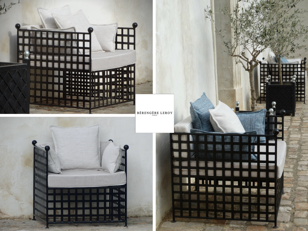 mobilier de jardin sur mesure haut de gamme