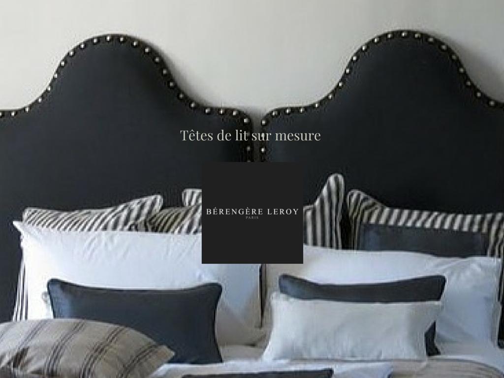 tete de lit sur mesure catalogue mobilier sur mesure paris b reng re leroy. Black Bedroom Furniture Sets. Home Design Ideas