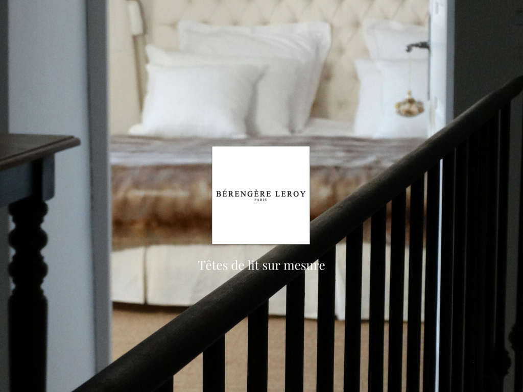 Tête de lit sur mesure capitonnée en lin blanc à prix imbattable à Aix en Provence