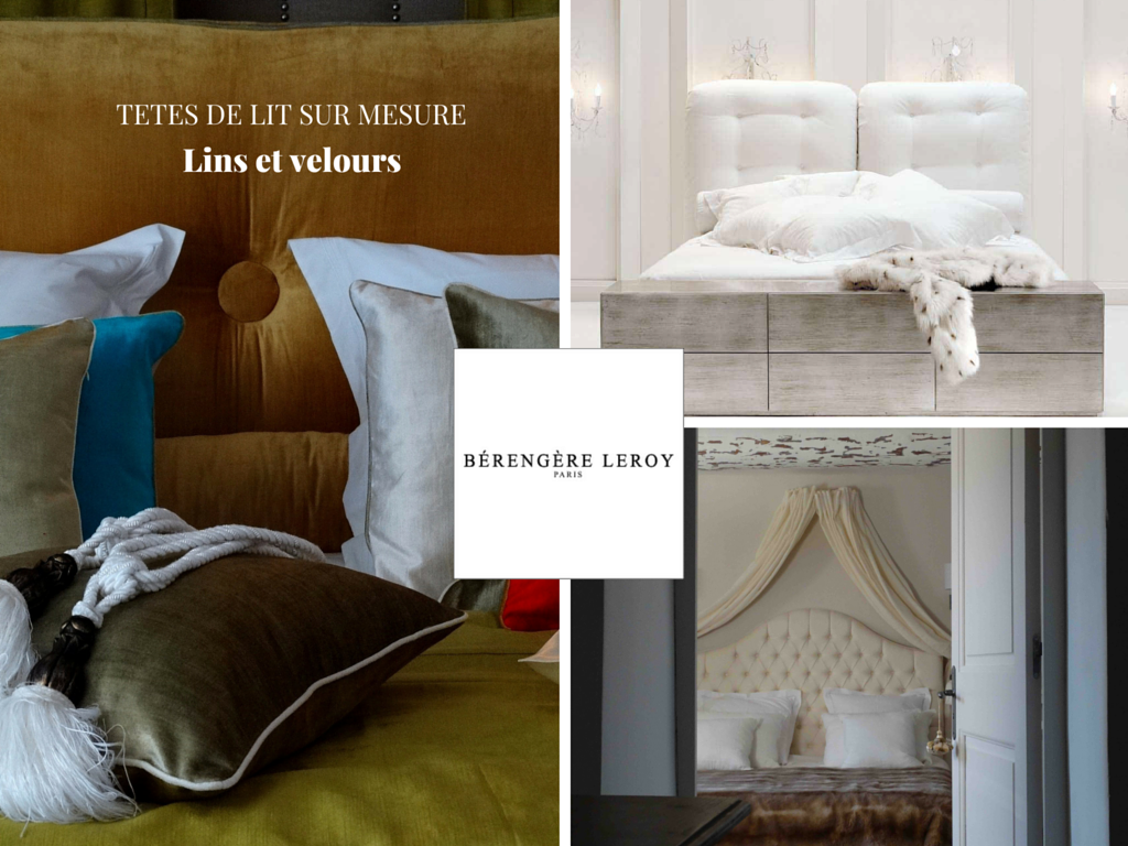 tete de lit sur mesure en lin marseille catalogue mobilier sur mesure paris b reng re leroy. Black Bedroom Furniture Sets. Home Design Ideas