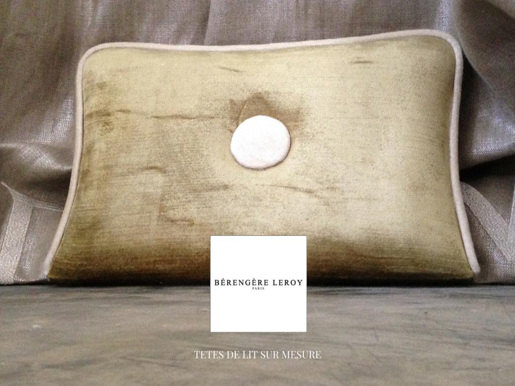 tete de lit sur mesure en velours a nantes catalogue. Black Bedroom Furniture Sets. Home Design Ideas