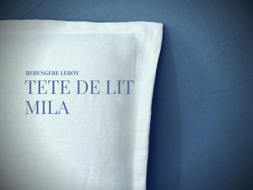 tête de lit en lin lavé crême Marseille