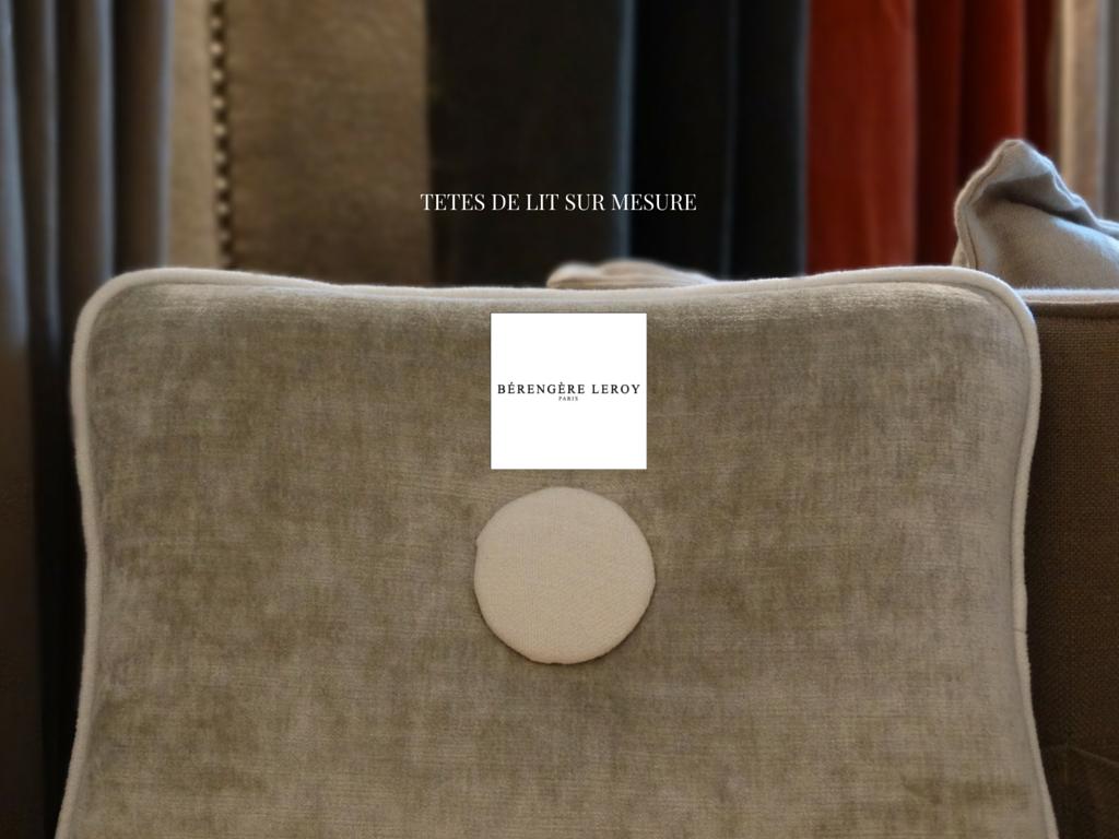 tete de lit sur mesure en velours bordeaux catalogue. Black Bedroom Furniture Sets. Home Design Ideas