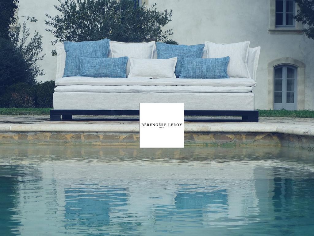 Canapé outdoor extérieur Provence