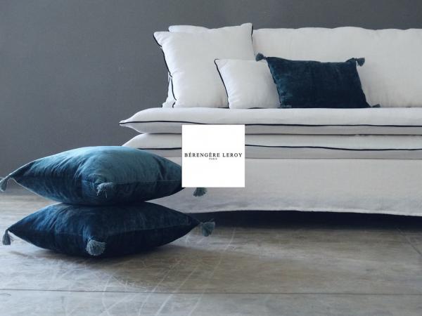 Collections canapes en lin lave mobilier sur mesure paris b reng re leroy - Canape en lin blanc ...