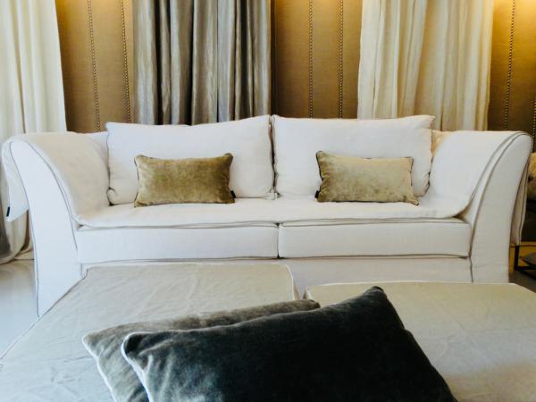 canapé sur mesure Jules lin lavé blanc Lyon