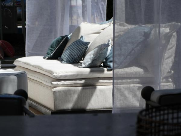 canapé sur mesure outdoor lin écru