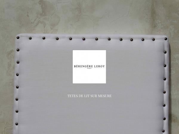 Tête de lit sur mesure en lin blanc aix en provence